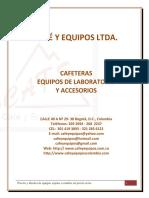 CATALOGO CAFÉ Y EQUIPOS 2016.pdf