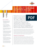 Ciena High Capacity Wire Speed Encryption Modules DS