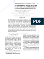 Prediction of Fatigue Failures of Aluminum Disc Wheels Using the Failure Probability Contour Based on Historical Test Data