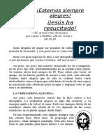 Fichas de Semana Santa