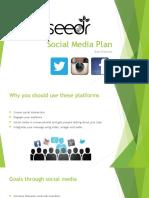 final social media plan