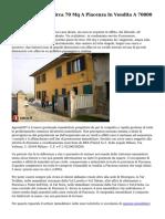 Appartamenti Di Circa 70 Mq A Piacenza In Vendita A 70000 Euro