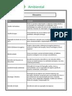 Glossário Ambiental Social Economico Geral Stakeholders