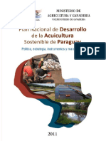 Plan Nacional de Acuicultura