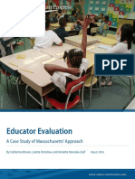 Educator Evaluation