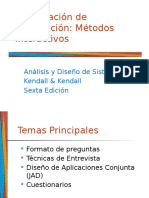 Recopilación de Información Métodos Interactivos ISIV DS I