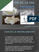 Cristalización de La Sal. JULIO EGIDO OLIVER 3ºB