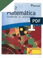 Matematica Cuardeno Actividades