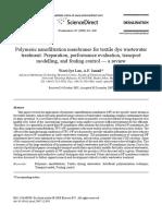 Polymeric nanofiltration membranes for textile dye wastewater.pdf