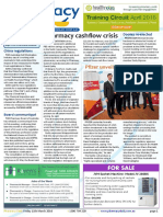 Pharmacy Daily for Fri 11 Mar 2016 - Pharmacy cashflow crisis, New Adelaide manufacturing facility, DDS takes customer award, Events Calendar and much more