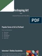 art group presentation