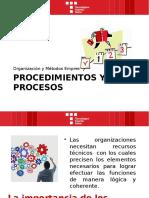 Procedimientos y Procesos