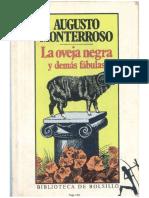 Augusto Monterroso La oveja negra y otras fábulas