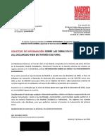 Solicitud de información sobre las obras del Beti-Jai al Ayuntamiento y la Comunidad de Madrid
