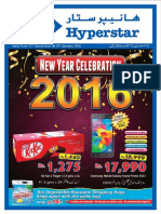 New Year Celebrations Leaflet 2016