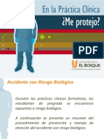 Atencion de Accidente Con Riesgo Biologico