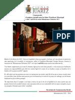 2015-02-14 Vivir en legalidad es el máximo ejemplo para los hijos- Presidente Municipal