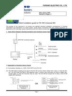 FA100 Brief Installation Guide