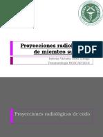Proyecciones Radiológicas de Miembro Superior
