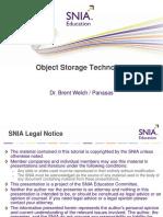 BrentWelch Object Storage Technology