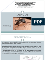 Dengue epidemiologia