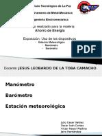 Barometro, Manometro, Estacion Metereologica