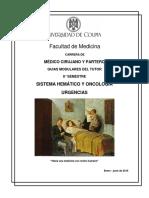Programa hematooncología
