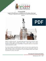 2015-03-21 Legado de Benito Juárez es resaltado por el Presidente Municipal
