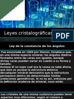 leyes cristalograficas