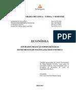 ATPS - Instrumentos de Politica Macro Econõmica