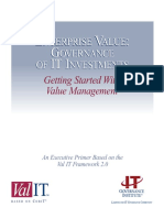 Getting Started With Value Management