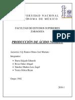 Manual de produccion de Ácido Nítrico