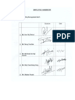 Handbook Sample