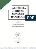 California Judicial Conduct Handbook Excerpt