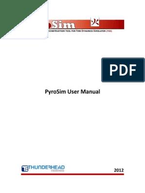 Pyrosim Tutorial Pdf
