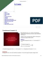 Transformasi Geometri 12
