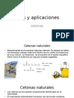 Usos y Aplicaciones Cetonas