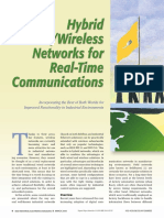 Hybrid Wired-Wireless Networks for Real-Time Communications