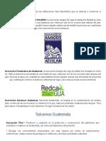 Instituciones Que Protegen El Medio Ambiente en guatemala