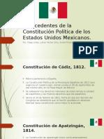 Antecedentes de La Constitución Política de Los Estados