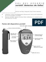 Manual Speedrite Detector de Fallas de Cerco