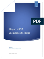 Sociedades Medicas Reporte BDD