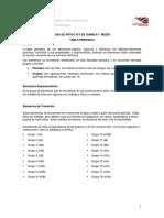 GUIA DE APOYO N°3 QUÍMICA 1° MEDIO TABLA