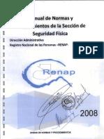 Normas y Procedimientos de Seguridad Fisica 2008