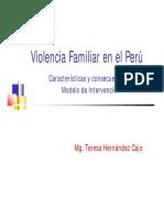 Violencia Familiar en El Perú
