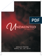 Undaunted, The Musical