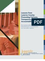 Juvenile Law Center Report