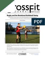 The Rotational Kettlebell Swing