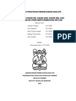 Laporan Praktikum Farmakognosi Analitik