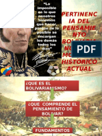 Bolivar y Catedra Hugo Chavez